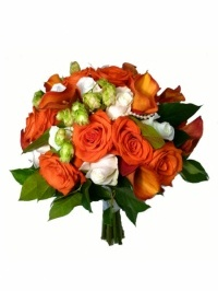 Autumn Rose Romance Bouquet