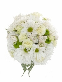 Daisy And Roses Bridesmaid Bouquet
