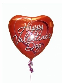 Happy Valentine's Day Mylar Balloon