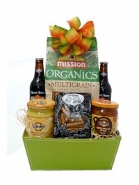 Rootin' For Game Time Gift Basket